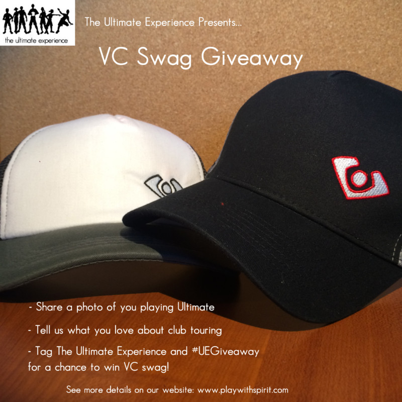 VC hats for giveaway
