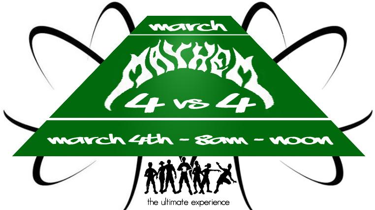 March Mayhem logo