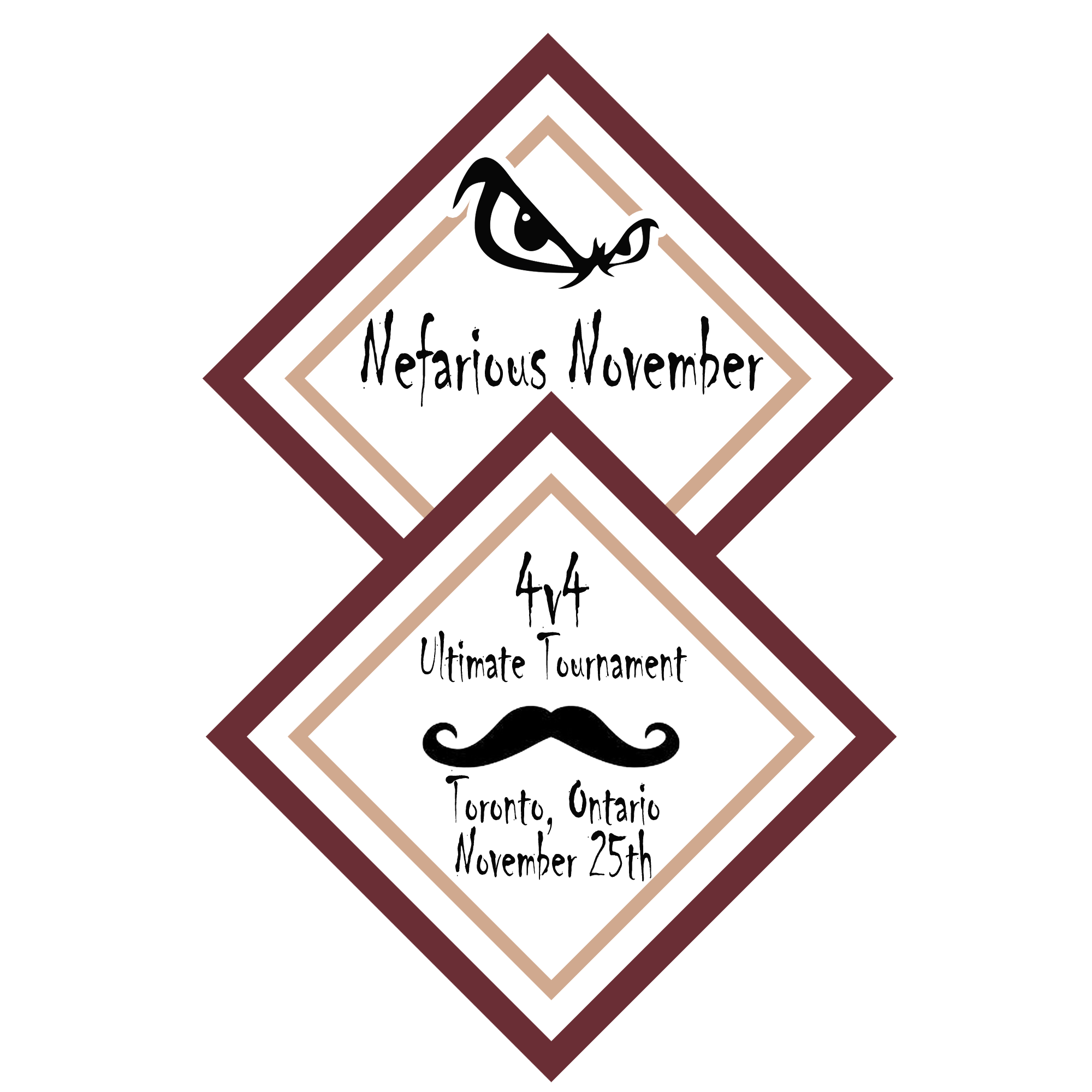Nefarious November logo