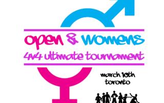 Open & Women's 4v4 Tournament logo