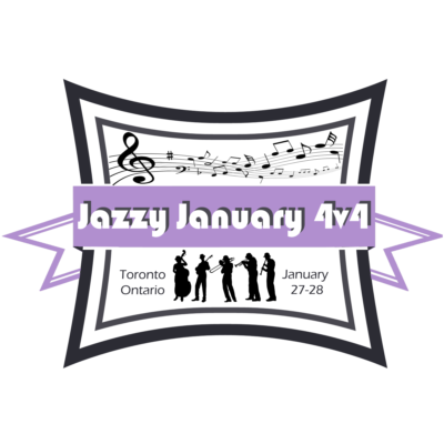 Jazzy January logo. Toronto, ON January 27-28